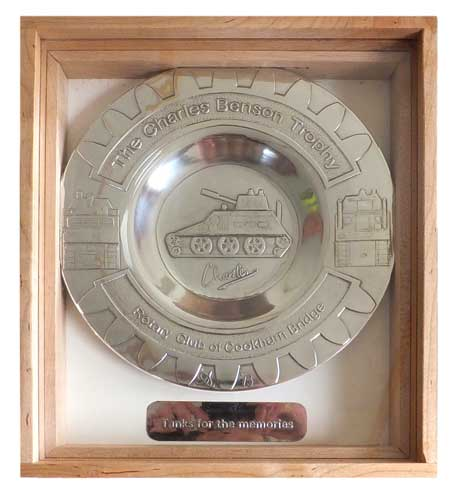 Gravity Grand Prix trophy for Cookham