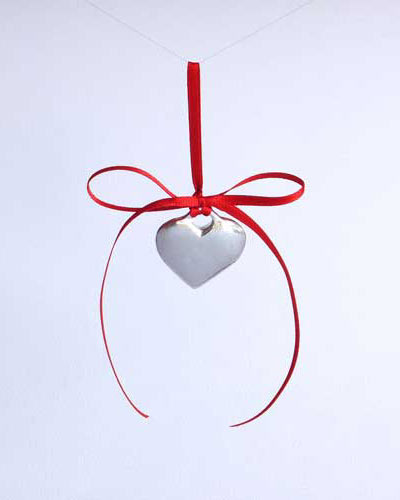 Heart tree decoration