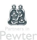 Partners in Pewter - Bespoke Pewter Gifts handmade in the UK