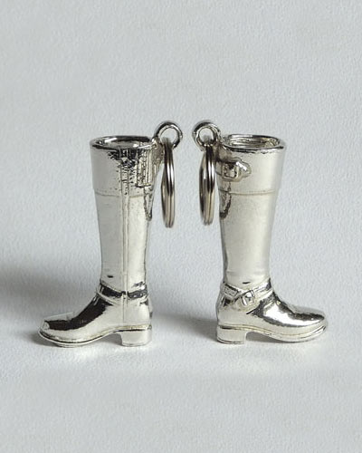 Riding boot key ring